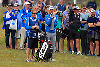 Bernd Wiesberger (AUT) on the 18th during Round 4 of the Irish Open at LaHinch Golf Club, LaHinch, Co. Clare on Sunday 7th July 2019.<br /> Picture:  Thos Caffrey / Golffile<br /> <br /> All photos usage must carry mandatory copyright credit (© Golffile | Thos Caffrey)