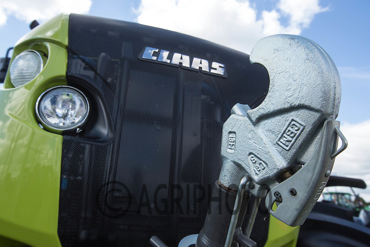 Claas Tractor<br /> Picture Tim Scrivener 07850 303986