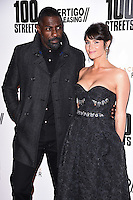 Idris Elba and Gemma Arterton<br /> at the &quot;100 Streets&quot; UK premiere, Bfi South Bank, London.<br /> <br /> <br /> &copy;Ash Knotek  D3195  08/11/2016