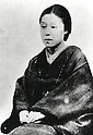 Undated - Kido Matsuko (1843-1886) was wife of Takayoshi Kido (Kogoro Katsura). She was the geisha of Gion and she saved Kido's life when he had to flee Kyoto after the unsuccessful attempt at Hamahuri Gate. (Photo by Kingendai Photo Library/AFLO)