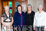 Nora Fleming, Ita Hurley, Breda Sheehan and Maureen Buckley at the Killarney Active retirement lunch in the INEC on Sunday