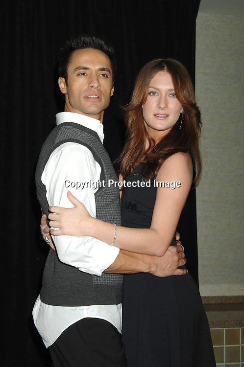 """Kamar de los Reyes and BethAnn Bonner..at the afterparty for The 3rd Annual """"ABC Daytime Salutes Broadway Cares/Equity Fights Aids """" Benefit at the Marriott Marquis in New York on February 25, 2007. ..Robin Platzer, Twin Images.."""