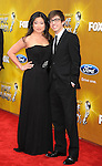LOS ANGELES, CA. - February 26: Jenna Ushkowitz and Kevin McHale  arrive at the 41st NAACP Image Awards at The Shrine Auditorium on February 26, 2010 in Los Angeles, California.
