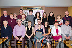 Engagement party for Lorraine O'Donoghue (Ballyard, Tralee) and Maurice O'Brien (Listellick, Tralee) celebrating with family and friends at Stockers Lodge on Saturday