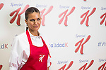 The Chef Samantha Vallejo-Nagera during his presentation as new ambassador of Special K in Q17 Studio in Madrid., January 21, 2016.<br /> (ALTERPHOTOS/BorjaB.Hojas)