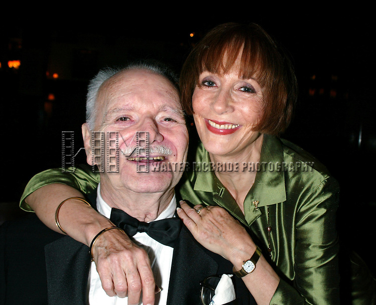 Patricia Elliott and John Willis<br /> Attending the Broadway Theater Institute 2003 Awards for Excellence held at The Players Club <br /> on Gramercy Park in New York City.<br /> September 15, 2003