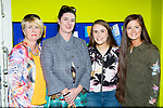 Cecilia Reidy, Orla Fitzgerald, Keeva Reidy and Conagh Fitzgerald at the Killarney KDYS receiving  the Quality label for Youth Centres from the Council of Europe at  Killarney KDYS on Tuesday