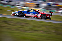 26-29 January, 2017, Daytona Beach, Florida USA<br /> 66, Ford, Ford GT, GTLM, Joey Hand, Dirk Muller, Sebastien Bourdais leads GTLM<br /> &copy;2017, Barry Cantrell<br /> LAT Photo USA
