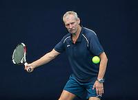 Hilversum, The Netherlands, March 10, 2016,  Tulip Tennis Center, NOVK, Henk Korteling<br /> Photo: Tennisimages/Henk Koster