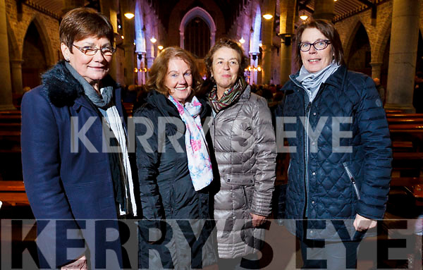 Attending the Kerry Choir recital in St John's Church on Sunday evening are, l-r Peggy O'Shea (Firies), Mary Murphy (Fossa), Mary Leahy (Tralee) and Joan Harmon (Churchhill).