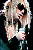 Pretty Reckless and Taylor Momsen performs at WOIQ's Xfinity Performance Theater in Bala Cynwyd, Pa on March 4, 2011  © Star Shooter / MediaPunchInc