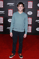 HOLLYWOOD, LOS ANGELES, CA, USA - NOVEMBER 04: Vincent Martella arrives at the Los Angeles Premiere Of Disney's 'Big Hero 6' held at the El Capitan Theatre on November 4, 2014 in Hollywood, Los Angeles, California, United States. (Photo by David Acosta/Celebrity Monitor)
