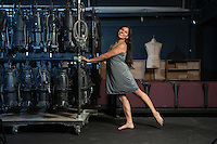 """Maricela Guardado '17 is currently at work on her full-length play, """"This Is How the Pacheco Brothers Make Their Mama's Chicken Soup,"""" at Oxy's Undergraduate Research Center. Photographed in Keck Theater on June 23, 2016.<br /> <br /> """"One of the reasons why I made this play so personal is because I was really upset with [how] I never found pieces that I could relate to or see myself in, and I know that my culture should be celebrated. So I was like 'OK, I gotta do it.'""""<br /> """"Throughout the play, we find out what the relationship is between these brothers, how they relate to their mom and her experience as a Salvadoran immigrant and how that's manifested now as second-generation Salvis. I grew up in this community as well, so I'm using Oxy as an opportunity to gather more resources and be of service.""""<br /> <br /> https://www.instagram.com/p/BIGCLNugWwc/?taken-by=occidentalcollege<br /> (Photo by Marc Campos, Occidental College Photographer)"""