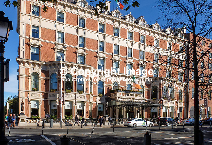 Shelbourne Hotel, St Stephen's Green, Dublin, Rep of Ireland, October, 2018, 201810204741<br />