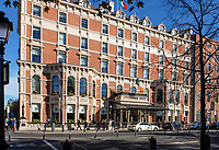 Shelbourne Hotel, St Stephen&rsquo;s Green, Dublin, Rep of Ireland, October, 2018, 201810204741<br /><br />Copyright Image from Victor Patterson, 54 Dorchester Park, <br />Belfast, UK, BT9 6RJ<br /><br />t1: +44 28 9066 1296 (from Rep of Ireland 048 9066 1296)<br />t2: +44 28 9002 2446 (from Rep of Ireland 048 9002 2446)<br />m: +44 7802 353836<br /><br />victorpattersonbelfast@gmail.com<br /><br />Please see my Terms and Conditions of Use at victorpatterson.com. It is IMPORTANT that you familiarise yourself with them.<br /><br />Images used on the Internet incur an additional cost and must be visibly watermarked i.e. &copy; Victor Patterson within the body of the image and copyright metadata must not be deleted. Images used on the Internet have a size restriction of 4kbs and are chargeable at rates available at victorpatterson.com.<br /><br />This image is available only for the use of the download recipient i.e. television station, newspaper, magazine, book publisher, etc, and must not be passed on to any third party. It is also downloaded on condition that each and every usage is notified within 7 days to victorpattersonbelfast@gmail.com<br /><br />The right of Victor Patterson (or the named photographer) to be identified as the author is asserted in accordance with The Copyright Designs And Patents Act (1988). All moral rights are asserted.