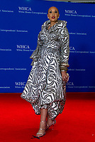 Singer Santita Jackson arrives for the 2018 White House Correspondents Association Annual Dinner at the Washington Hilton Hotel on Saturday, April 28, 2018.<br /> Credit: Ron Sachs / CNP / MediaPunch<br /> <br /> (RESTRICTION: NO New York or New Jersey Newspapers or newspapers within a 75 mile radius of New York City)
