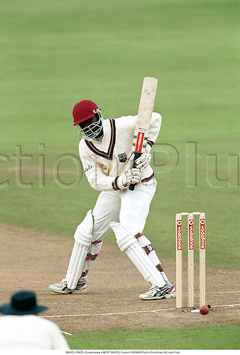 WAVEL HINDS, Glamorgan v WEST INDIES, Cardiff 000606 Photo:Glyn Kirk/Action Plus...2000.Cricket.Batsman.batting