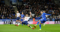 Leicester City's Rachid Ghezzal aims for the goal<br /> <br /> Photographer Hannah Fountain/CameraSport<br /> <br /> The Premier League - Leicester City v Tottenham Hotspur - Saturday 8th December 2018 - King Power Stadium - Leicester<br /> <br /> World Copyright © 2018 CameraSport. All rights reserved. 43 Linden Ave. Countesthorpe. Leicester. England. LE8 5PG - Tel: +44 (0) 116 277 4147 - admin@camerasport.com - www.camerasport.com