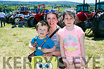 Enjoying Kilflynn Vintage Rally Day on Sunday were Fionn O'Donoghue, Siobhan O'Donoghue and Grace O'Donoghue