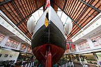 Museumsinsel Bygdøy, Schiff Fram im Frammuseet, Oslo, Norwegen