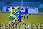 Kerry's John McDonough and Limerick F.C.'s John O'Connor...