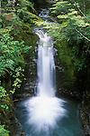 Waterfall near Lake Wakatipu, South Island, New Zealand