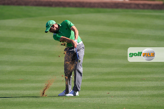 Sergio Garcia (ESP) on the second day of the DUBAI WORLD CHAMPIONSHIP presented by DP World, Jumeirah Golf Estates, Dubai, United Arab Emirates.Picture Fran Caffrey www.golffile.ie