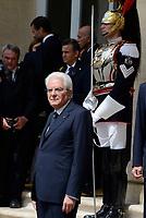 Roma,10 Giugno 2017<br /> Sergio Mattarella<br /> Papa Francesco in visita al Quirinale