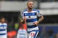 Joel Lynch of Queens Park Rangers during Queens Park Rangers vs Derby County, Sky Bet EFL Championship Football at Loftus Road Stadium on 6th October 2018