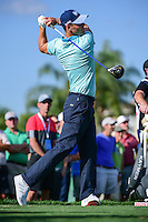 Martin Kaymer (DEU) watches his tee shot on 13 during round 1 of the Honda Classic, PGA National, Palm Beach Gardens, West Palm Beach, Florida, USA. 2/23/2017.<br /> Picture: Golffile | Ken Murray<br /> <br /> <br /> All photo usage must carry mandatory copyright credit (&copy; Golffile | Ken Murray)