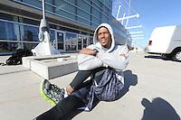 SCHAATSEN: SALT LAKE CITY: Utah Olympic Oval, 12-11-2013, Shani Davis (USA), ©foto Martin de Jong