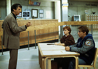 The Breakfast Club (1985) <br /> Emilio Estevez, Molly Ringwald &amp; Paul Gleason<br /> *Filmstill - Editorial Use Only*<br /> CAP/KFS<br /> Image supplied by Capital Pictures