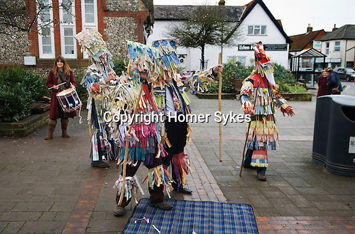 Overton Mummers Hampshire Boxing Day England