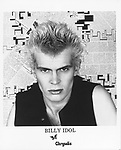Billy Idol..promoarchive.com