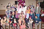 3650-3655.---------.Fancy a Party.-------------.Arab's and cowboy's were nothing unusual at the Kerin's O'Rahilly's GAA clubhouse,Strand Rd Tralee last friday night for Katie Griffits colourful 21st birthday bash,Katie(seated centre)from Camp had her parent's,Jennifer and Bill beside her as well as a whole lot of friends(front)L-R Paul Quirke,Niamh&Sarah Fitzgibben,Pontas Glad,David Sullivan(seated)L-R Margaret Hennessy,Jennifer,Katie and Bill Griffiths and Brian Stapleton(standing)L-R Laura Fitzgerald,Tony Kerrigan,Darran Callighan,Mehall Fitzgerald,Steven Breen,Danny O'Shea,Hanna Windfield,Jamie O'Sullivan,Jane Fitzgerald and Dave O Sullivan.