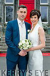Olivia Dineen, Causeway, Daughter of Roy and Ann Dineen, and Patrick Healy, Tarbert, son of Tom and Anne Healy, were married at St. John's Church, Causeway, by Fr. Brendan Walsh on Saturday 19th March 2016 with a reception at Ballyseede Castle Hotel