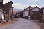 China, a village in the Dali Bai Autonomous Prefecture, Yunnan Province