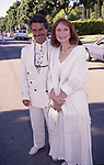 David Christian and Katherine Helmond attend a benefit on September 17, 1992 in Los Angeles, California.