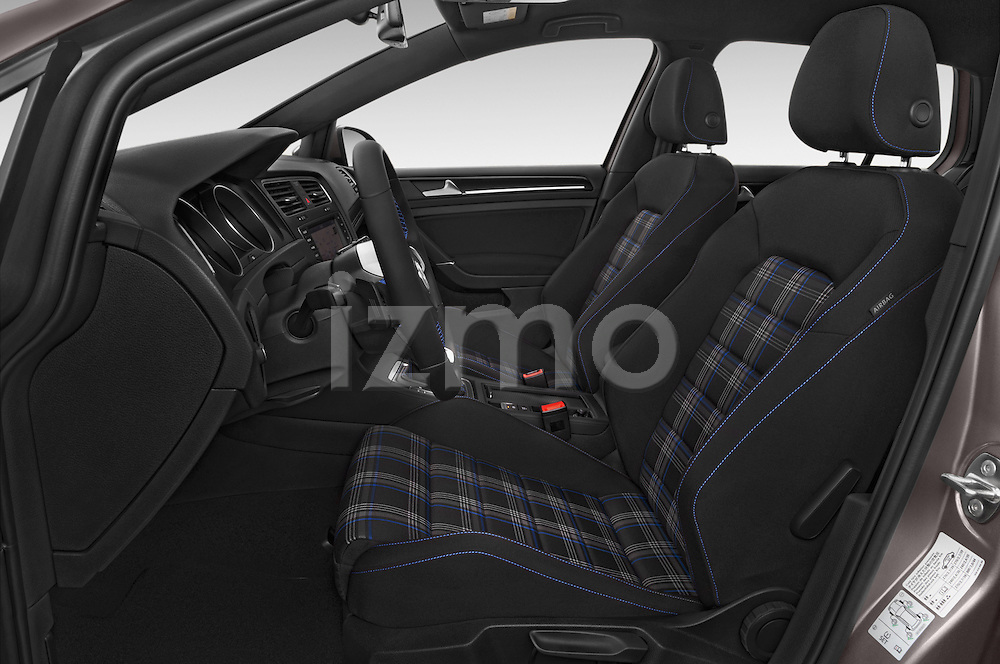 Front seat view of a 2015 Volkswagen Golf GTE 5 Door Hatchback 2WD Front Seat car photos