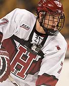 Eddie Ellis (Harvard - 7) - The Harvard University Crimson defeated the Northeastern University Huskies 4-3 in the opening game of the 2017 Beanpot on Monday, February 6, 2017, at TD Garden in Boston, Massachusetts.