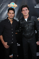 DJ Cotrona, Zane Holtz<br /> Universal Studio's Halloween Horror Nights 2014 Eyegore Award, Universal Studios, Universal City, CA 09-19-14<br /> David Edwards/DailyCeleb.com 818-249-4998
