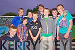Enjoying the atmosphere at 'Feirm Factor' in Knocknagoshel last Sunday night was John Bell, John Walsh, Ciaran Mangan, Niall O'Shea, Kevin McCarthy, Alex Agbaba, Cian Mangan, Matthew O'Connor and Sean Mangan.