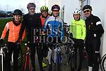James McMorrow, Eamonn Lawlor, Neil Traynor, Darragh Gannon, Liam Maxwell and Shane O'Neill who took part in the Duleek Parish School cycle. Photo:Colin Bell/pressphotos.ie