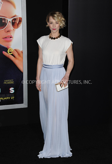 WWW.ACEPIXS.COM<br /> <br /> February 24 2015, New York City<br /> <br /> Karine Vanasse arriving at the premiere of 'Focus' at the TCL Chinese Theatre on February 24, 2015 in Hollywood, California.<br /> <br /> By Line: Peter West/ACE Pictures<br /> <br /> <br /> ACE Pictures, Inc.<br /> tel: 646 769 0430<br /> Email: info@acepixs.com<br /> www.acepixs.com
