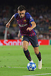 UEFA Champions League 2018/2019 - Matchday 3.<br /> FC Barcelona vs FC Internazionale Milano: 2-0.<br /> Munir El Haddadi.