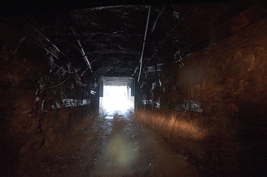 11/28/12 - Sunshine Silver Mine facility in Kellogg, Idaho. Underground pictures are from within the Sterling Drift.
