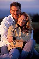 Happy couple, Mt. Tamalpais, N. California<br />