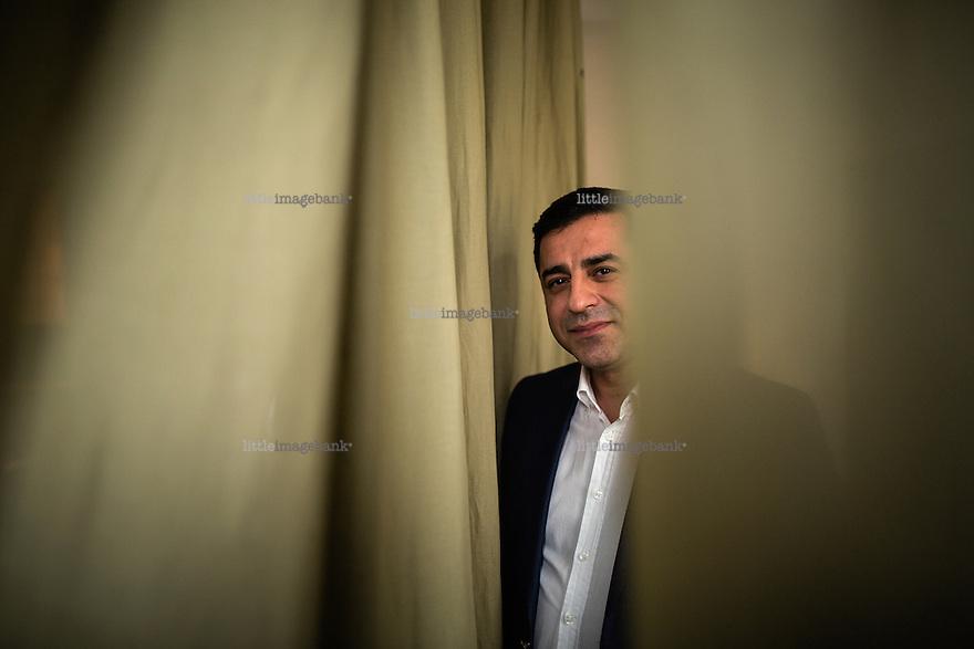 Oslo, Norge, 13.04.2016. Selahattin Demirtaş er en kursisk politiker og leder for det venstreorienterte kurdiske partiet Halkların Demokratik Partisi (HDP). Foto: Christopher Olssøn.