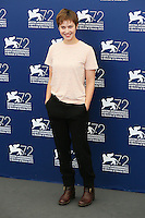 Lou de Laage attends the photocall for the movie 'The Wait' during 72nd Venice Film Festival at the Palazzo Del Cinema, in Venice, Italy, September 5, 2015. <br /> UPDATE IMAGES PRESS/Stephen Richie