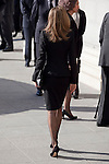 Princess Letizia of Spain attends the 11M March 11, 2004 terrorist attempt remember mass at Almudena Cathedral in Madrid, Spain. March 11, 2014. (ALTERPHOTOS/Victor Blanco)